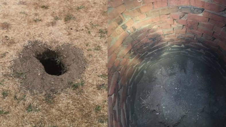 Evinin Bahçesindeki Sıradan Deliği Kazan Bir Adam, Yüzlerce Yıllık Kuyu Buldu