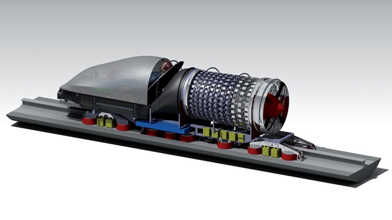 SpaceX'in Kapsül Yarışmasını 467km/s Hızla 3. Kez WARR Hyperloop Kazandı