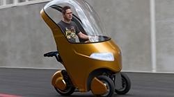 Motordan Bozma Tek Kişilik Elektrikli Araç #İlginç İcatlar
