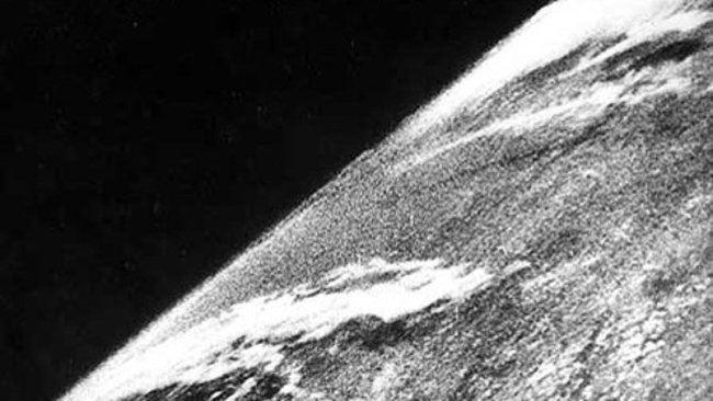 Uzaydan çekilmiş ilk fotoğraf
