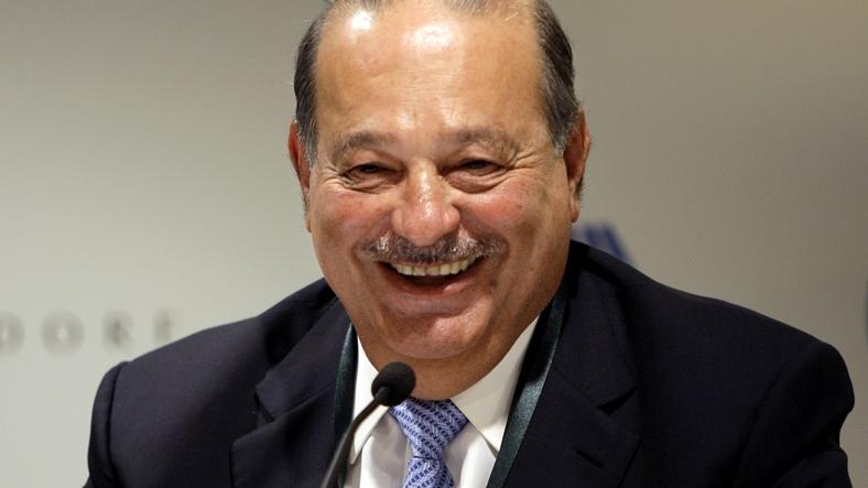 6- Carlos Slim Helu