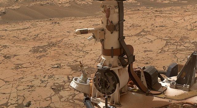 NASA'nın Mars'ta görev yapan Curiosity aracı