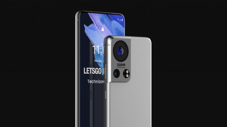 200 MP Kameraya Sahip Samsung Galaxy S22 Ultra Konsepti
