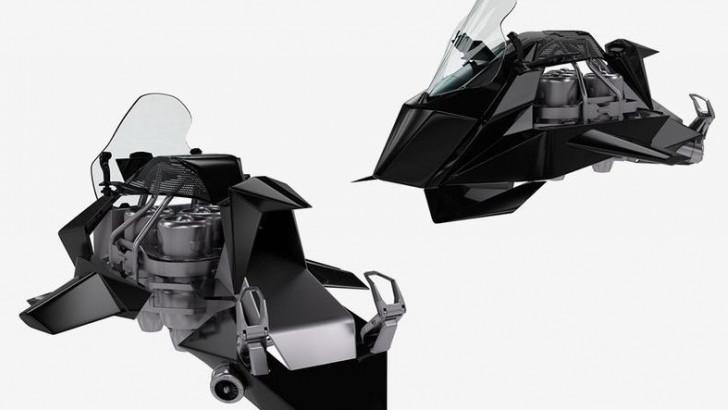 Havada 241 km/s Hız Yapabilen Uçan Motosiklet: Speeder ile ilgili görsel sonucu