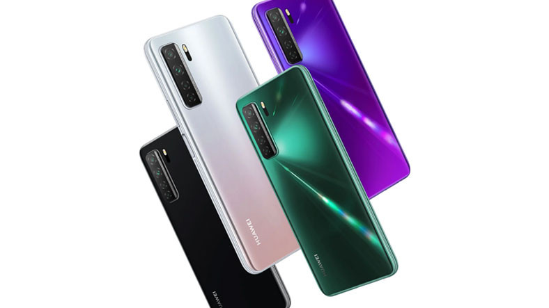 Huawei, MediaTek Dimensity 800U İşlemcili Telefonu Nova 7 SE Vitality Edition'ı Tanıttı