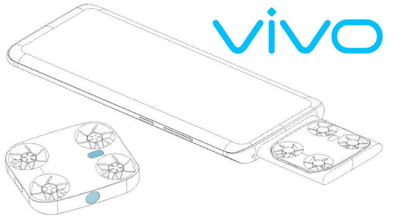 Vivo Patents a Smartphone with a Drone Inside 2
