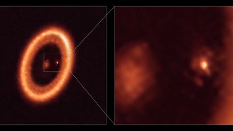 Tarihte İlk Kez Bir Gezegenin Uydusunun Oluşumu Gözlemlendi