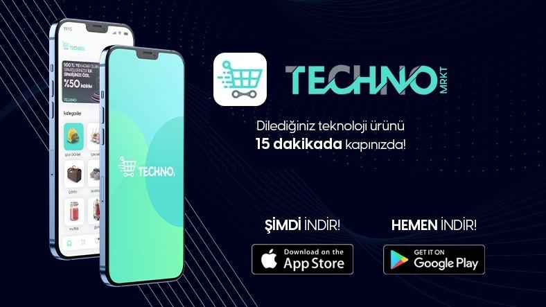 Teknolojik Ürünleri 15 Dakikada Kapınıza Teslim Eden Yeni Uygulama: Technomrkt