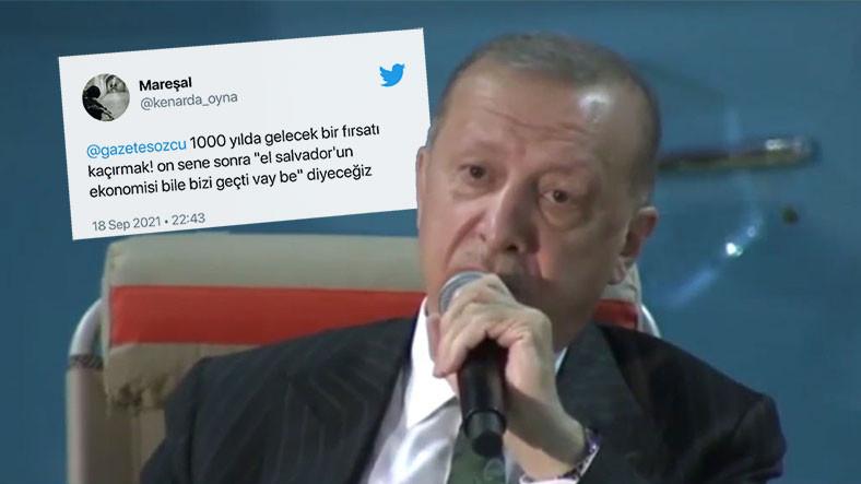 Cumhurbaşkanı Erdoğan'ın 'Kripto Paraya Karşı Bir Savaşımız Var' Sözleri Twitter'ı Karıştırdı: İşte Tepkiler