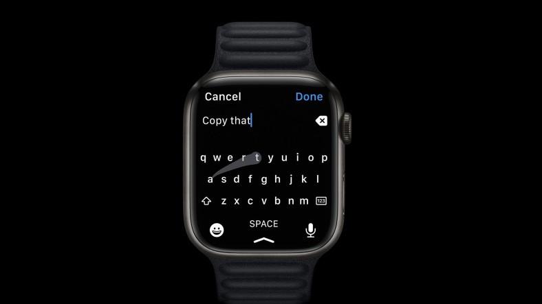 Apple Watch'un Yeni Klavye Özelliği 'Çalıntı' Olduğu İddiasıyla Mahkemelik Oldu
