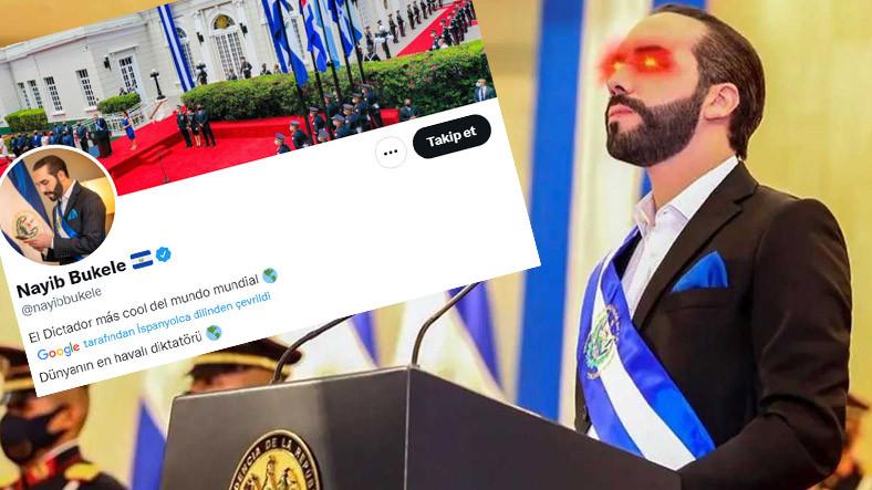 Elon Musk'ın Yazmasından İyidir: Rahat Duramayan El Salvador Devlet Başkanı, Twitter Profiline 'Diktatör' Yazdı