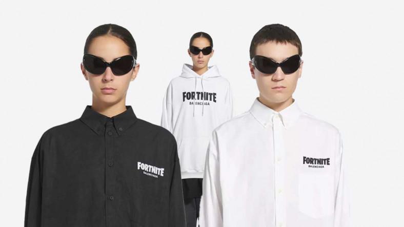 Aynısı Pazarda 30 Lira: Balenciaga, Sadece Gömleği 1000 Dolar Olan Fortnite Koleksiyonunu Tanıttı