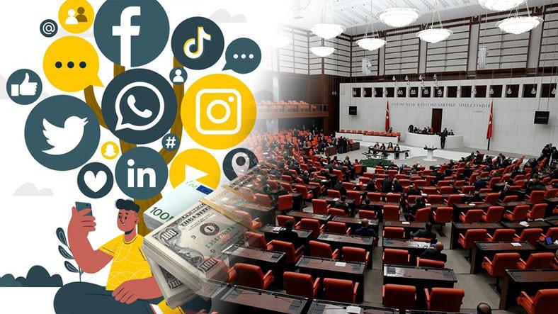 meclisin gundemi sosyal medyadan para kazananlara yonelik vergi 1633935250