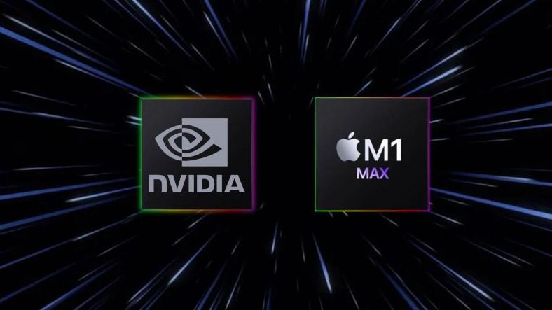 Apple'ın Yepyeni İşlemcisi M1 Max, GeForce RTX 3080 Mobil ile Kafa Kafaya Performans Gösterdi