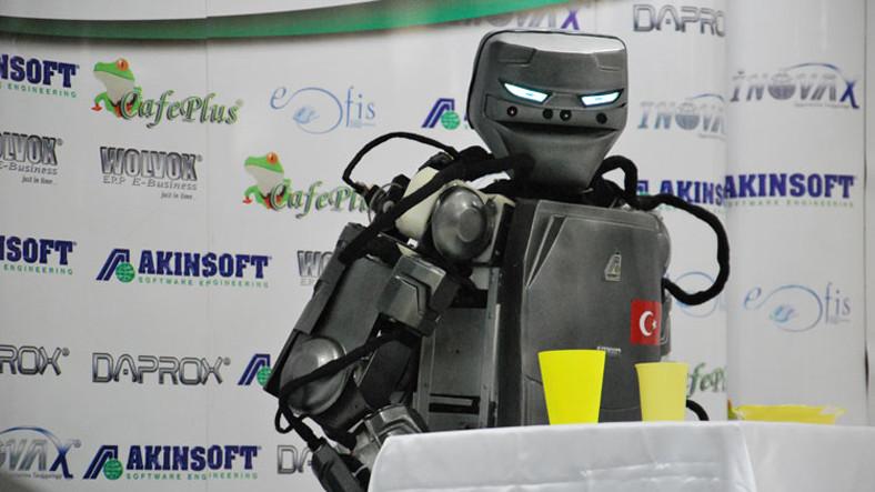 Türkiye'de İlk 'İnsansı Robot'un Seri Üretimine Başlandı!