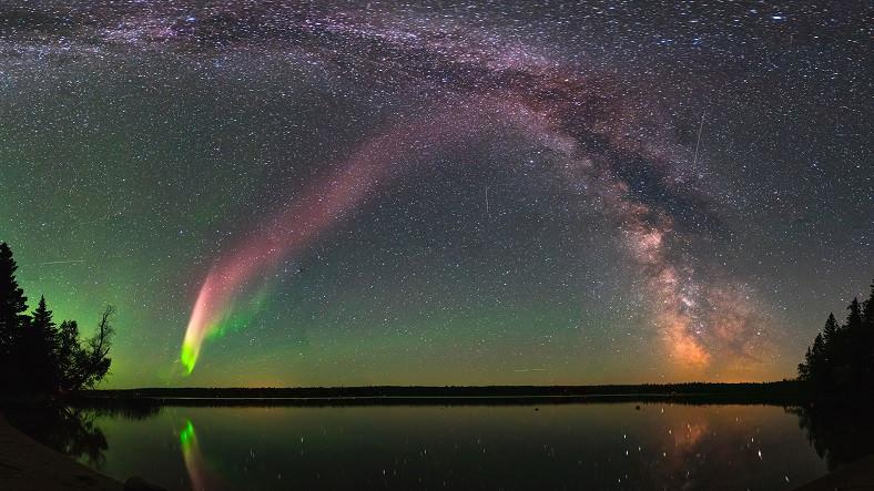 Gözlemciler Yeni Bir Aurora Türü Keşfetti: Steve
