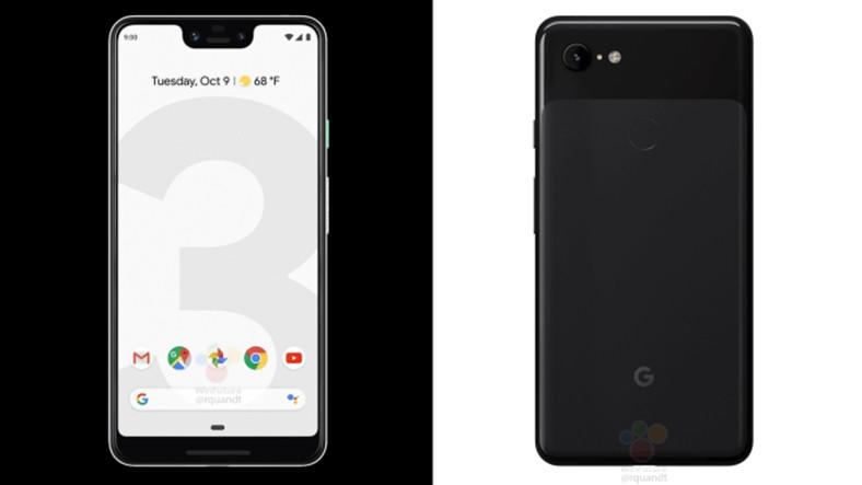 Google Pixel 3 ve Pixel 3 XL'ın Tasarım Detayları Belli Oldu