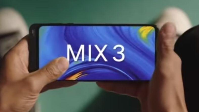 Çift Ön Kameralı Xiaomi Mi Mix 3 Sürprizlerle Geliyor