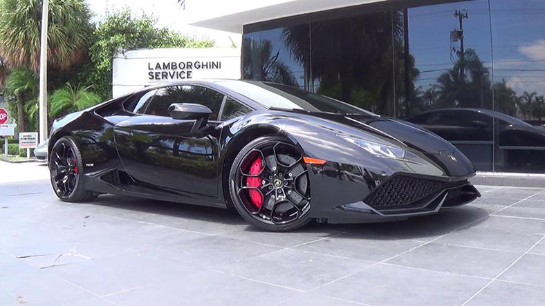 Lamborghini Huracán Spyder Alev Alev Yandı (Video)