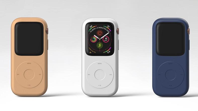PodCase ve Apple Watch'u Birleştirip Ortaya Yeni Bir iPod Çıkaran Konsept