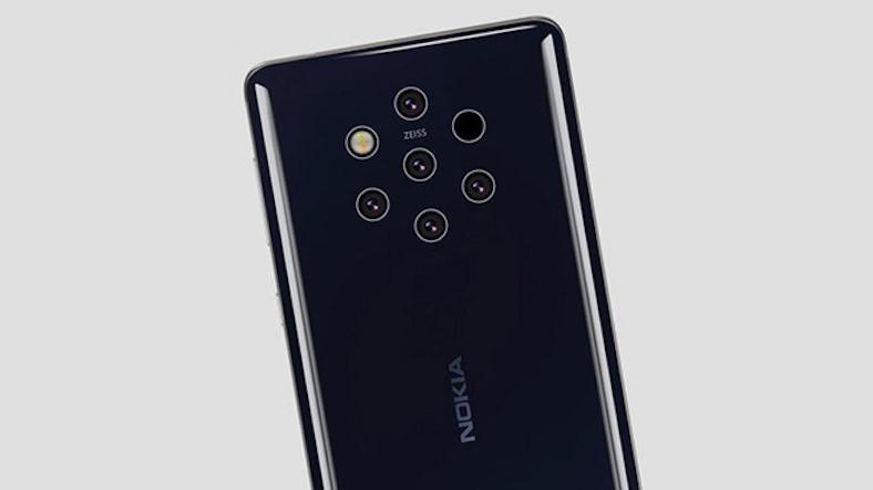 Üzerinde Tam 7 Delik Bulunduran Nokia 9 PureView Kapağı Ortaya Çıktı