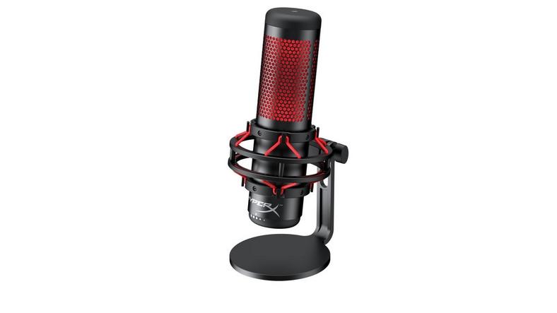 HyperX'ten Oyun Yayıncılarına Özel Mikrofon: Quadcast