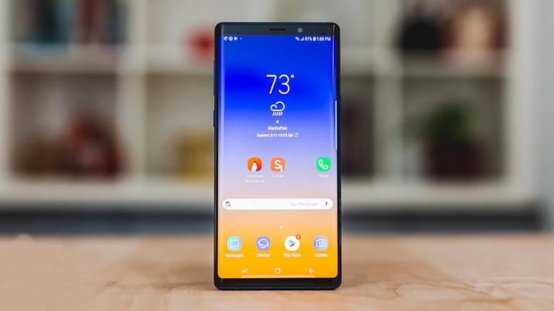 Samsung Galaxy Note9 İçin Androide Pie Ertelendi