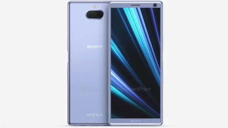21 9 Ekranlı Sony Xperia XA3'ün Tasarımını Gözler Önüne Seren