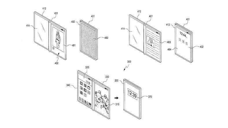 Samsung, 3 Ekranlı Katlanabilir Telefon Tasarımı Yapıyor