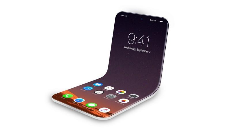 Apple, Yeni Bir Katlanabilir Telefon Patenti Aldı