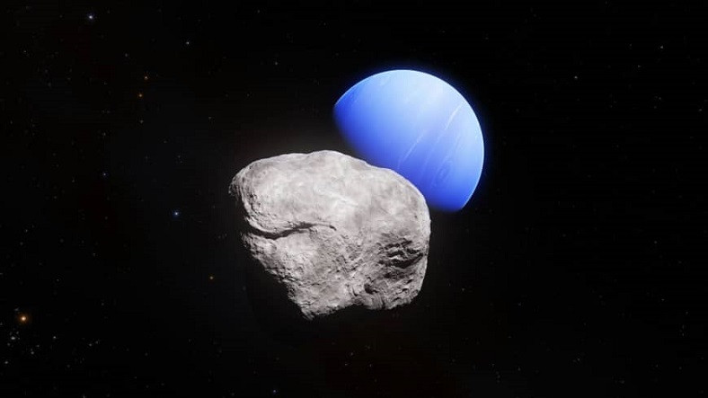 Neptün'ün En Küçük Uydusu, Parçalandıktan Sonra Tekrar Doğmaya Devam Ediyor