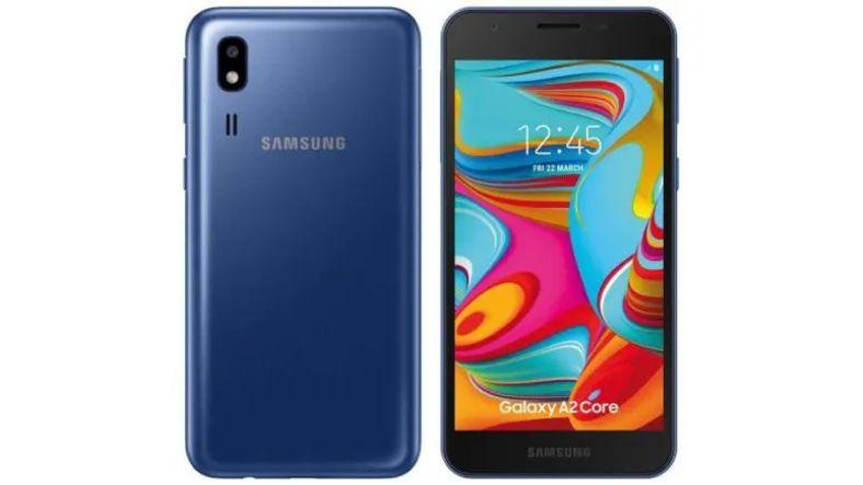 Samsung un Bir Sonraki Android Go Telefonu Galaxy A2 Core
