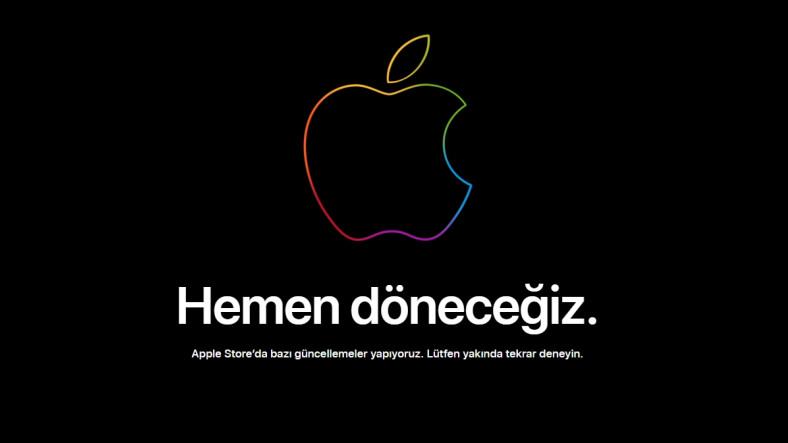 Apple'dan Beklenmedik Gelişme: Çevrimiçi Mağazası Kapatıldı