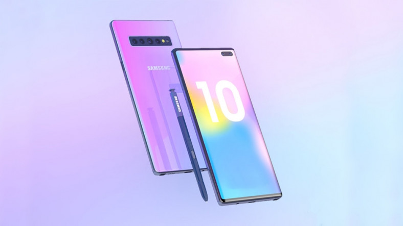 Samsung Galaxy Note10'da Fiziksel Tuş Bulunmayacak