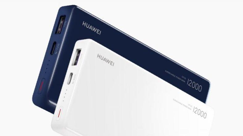 Huawei'nin Hızlı Şarja Sahip Powerbanki Tanıtıldı