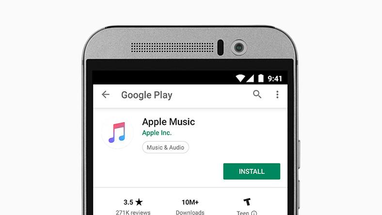 Apple Music'in Android Sürümüne Chromecast Desteği Gelecek
