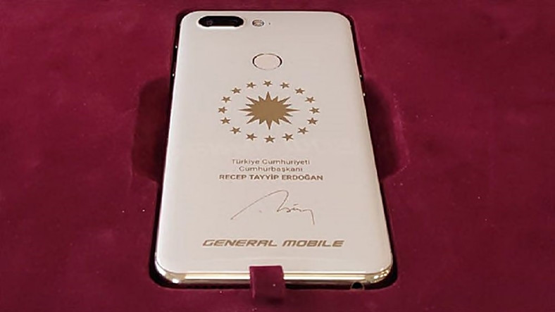 General Mobile, Cumhurbaşkanı Erdoğan'a Özel Telefon Üretti