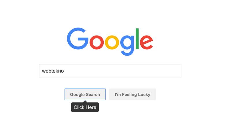 Google Aramalarını GIF'e Dönüştürebileceğiniz İnternet Site