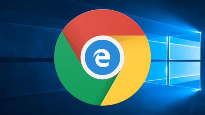 Google, Chrome'un Tasarımını, Microsoft Edge'den Kopyaladı