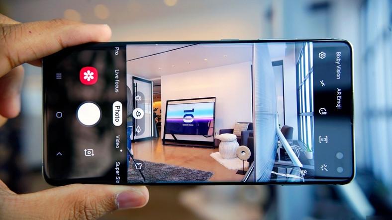 Samsung Galaxy S10'a Ultra Geniş Panorama Özelliği Geldi