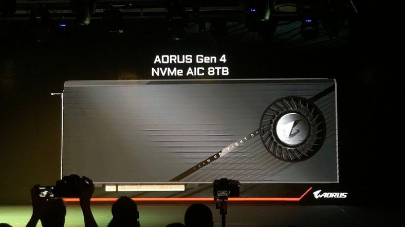 Gigabyte, 15000MB/s Hıza Sahip, 8 TB'lık SSD'sini Tanıttı