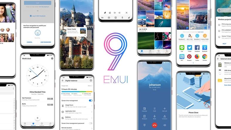 14 Huawei ve Honor Modeli, EMUI 9.1 Açık Betasıne Eklendi