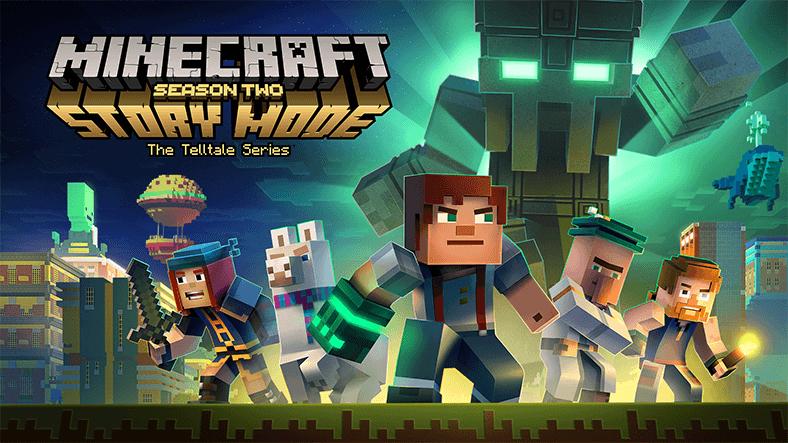 Minecraft: Story Mode'un İki Sezonu Marketlerden Kalkıyor