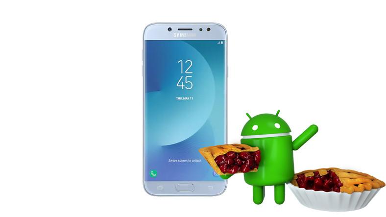 Galaxy J7 Pro, Android 9 Pie'ye Güncelleniyor