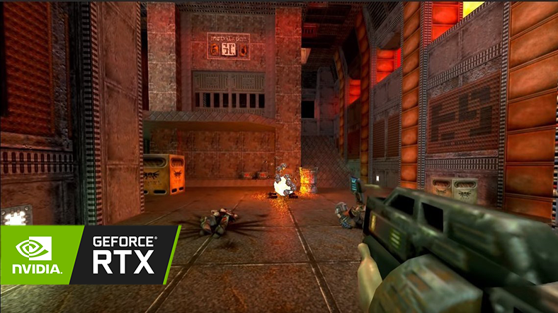 Released Quake 2 beam tracking technology – sclate