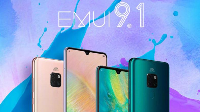 Huawei Mate 20 Serisinin EMUI 9.1 Testlerine Başladı