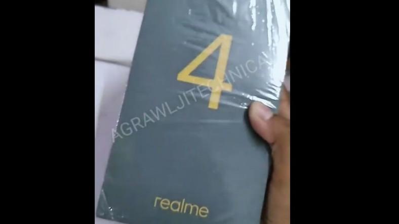 İddia: Realme 4'ün Kutusu Ortaya Çıktı