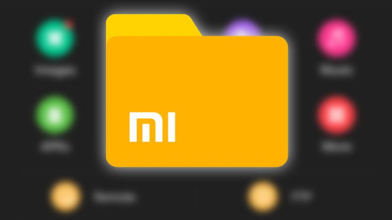 Xiaomi'nin Dosya Yöneticisi Uygulaması - Gelen Yenilikler