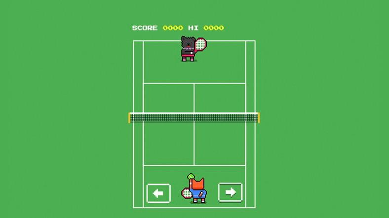 Google'dan, Wimbledon Tenis Turnuvası İçin Sürpriz Yumurta