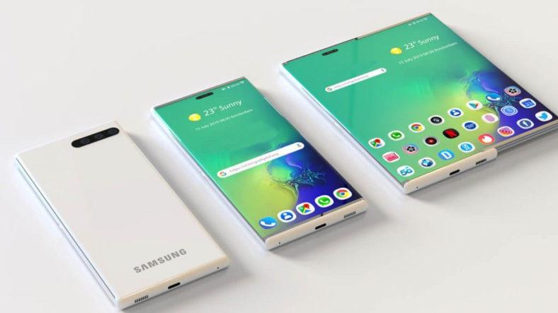 Samsung'dan Katlanabilir Ekrana Alternatif Patent